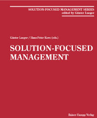 Solution Focused Management